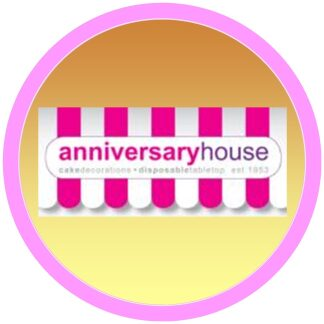 Anniversary House Sugar Pipings