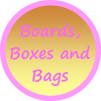 Boards, Boxes and Bags