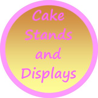 Cake Stands, Displays and Storage