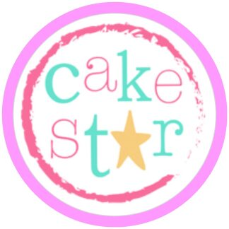 Cake Star Alphabet and Number Cutters