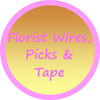 Florist Wires, Picks and Tape