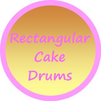 Rectangular Cake Drums