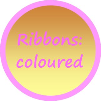 Ribbons - coloured