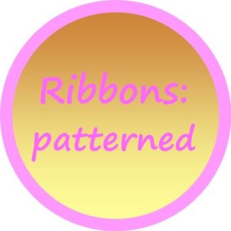 Ribbons - patterned