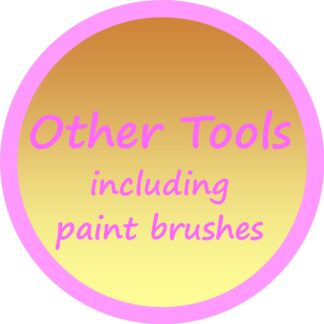 Other Tools (including paint brushes)