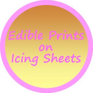 Edible Prints on Icing Sheets